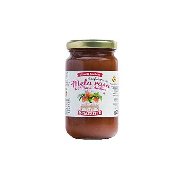 Confettura di Mela Rosa dei Monti Sibillini - 230gr