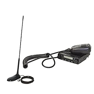 KIT CB radio Albrecht AE 6110 ASQ + PNI Extra 45 CB antenna