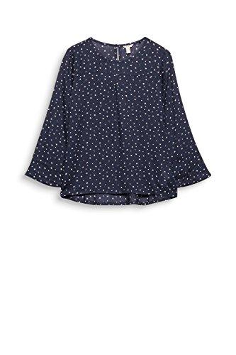 ESPRIT Damen Bluse Mehrfarbig (Black 001)