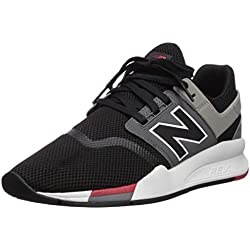 New Balance 247v2, Baskets Homme, Noir (Black/Black FB), 41.5 EU