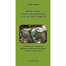 Opfersteine, Göttinnenquellen und Druidenthrone. Prähistorische Kultstätten und andere geheimnisvolle Plätze im Bayerischen Wald
