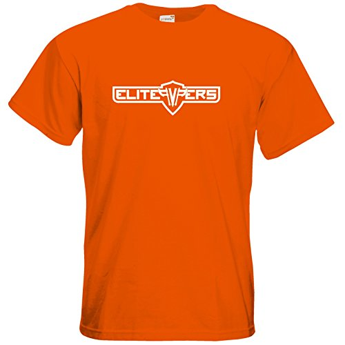 getshirts - elitepvpers Merchandise - T-Shirt - Elitepvpers White Orange