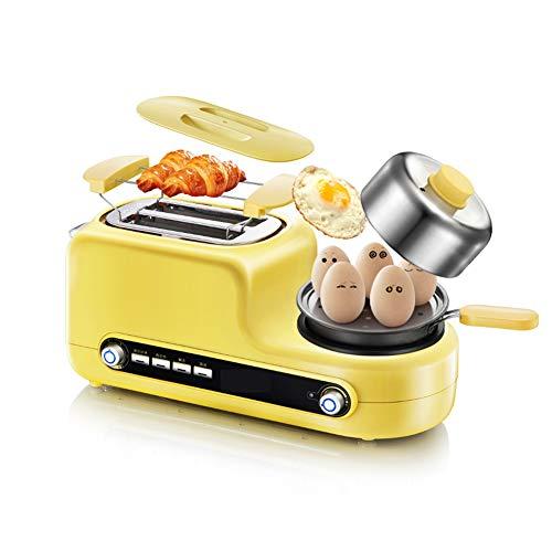 4-in-1 Multifunktion Toaster, 2 Slice Toaster mit Krümelschublade, Stornieren Aufwärmen Auftauen...