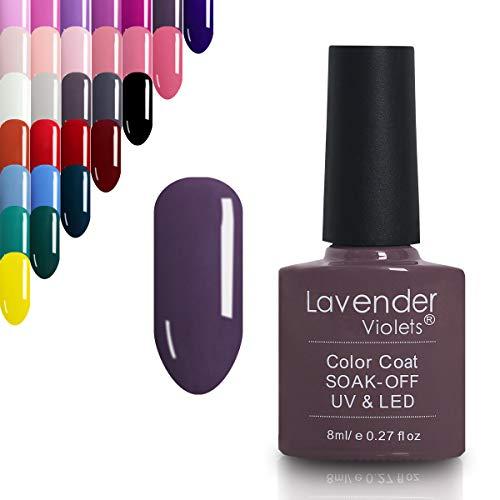 Lavender Violets Soak-Off-Gel-Nagellack, professioneller UV-/LED-Nagellack in Salonqualität