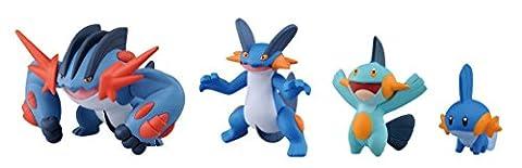 Takaratomy Pokemon XY Monster Collection Mega Evolution Sinker 5,1cm Mega Laggron Action Figure Lot
