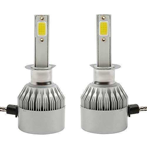 2 Pcs H1 LED Faro dell'automobile Lampade Lampadine Conversione Kit 200W 20000LM 6000k Bianco Lamps,COB Chips