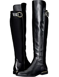 Calvin Klein Women's Priscila Black Cow Silk/Neoprene 7 M US