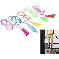 AOWA - Cuerda de saltar ajustable, para ejercicio, fitness, cardio, crossfit, deporte, velocidad de salto de alambre