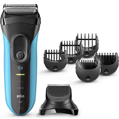 Rasoio Braun Series 3 3010BT Shave e Style 3-in-1 blu [3010BT]