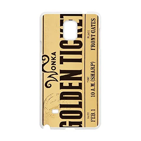 Samsung Galaxy Note 4 Cases Phone Case Cover Willy Wonka Golden Ticket Chocolate Bar 5R56R3514818