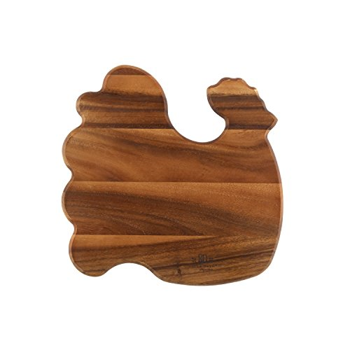 Paula Deen Signature Pantryware Wooden Rooster Cutting Board