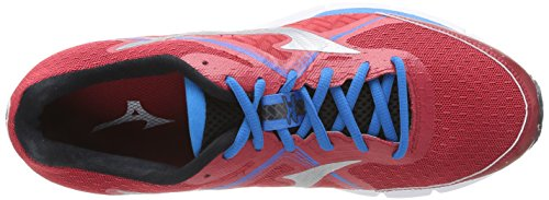 Mizuno Wave Ultima 6, flâneurs homme Chinesered/Silver/Divablue