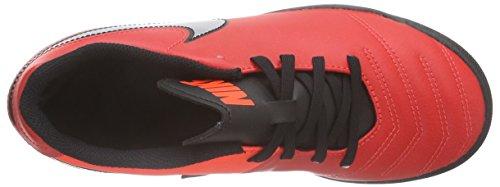 Nike Tiempo Rio Iii Tf, Chaussures de Football Compétition Garçon Rot (Light Crimson/Total Crimson/Metallic Silver)