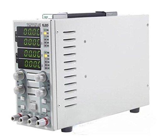 Paracity KL283Dual Channel LCD regolabile per carico elettronico DC 80V 30A 300W per LED Driver, seminatore switching, alimentatore, alimentazione mobile, caricabatterie, batterie ecc. (220V)