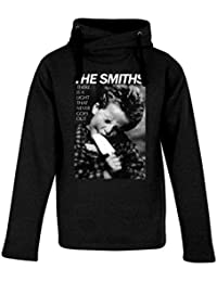 Top Fashion Quality Clothing Men's The Smiths There's A Light Heavyweight Hooded Sweatshirt