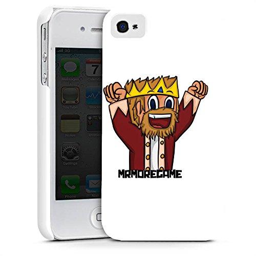 Apple iPhone X Silikon Hülle Case Schutzhülle MrMoregames Fanartikel Merchandise Youtuber Premium Case glänzend