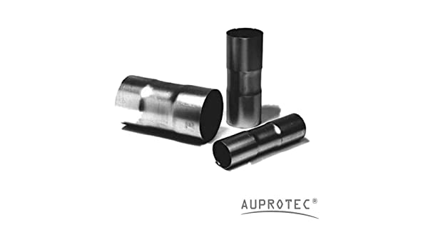 Lkw 100 cm Universal Auspuffrohr /Ø 58 mm einseitig aufgeweitet Abgasrohr Rohr Abgasanlage Pkw