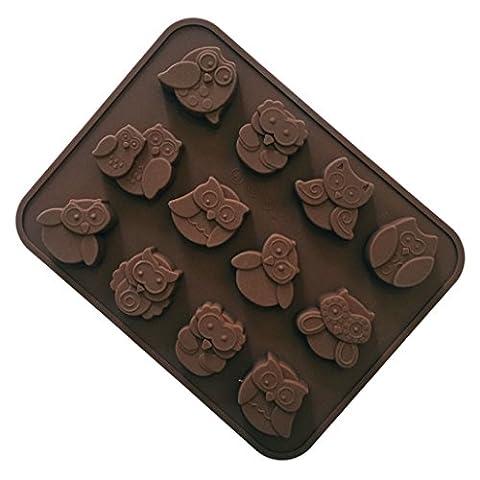 FantasyDay® 12er Silikon Backform / Muffinform für Muffins, Cupcakes, Kuchen,
