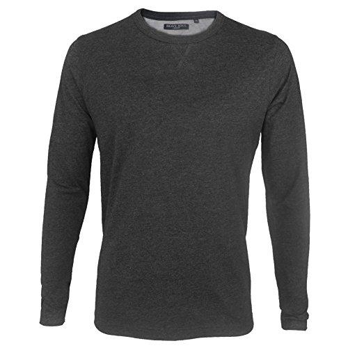 Brave Soul Herren T-Shirt * Charcoal Marl