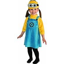 Rubbies - Disfraz de Minion para mujer, talla 1 - 2 años (886440TODD)
