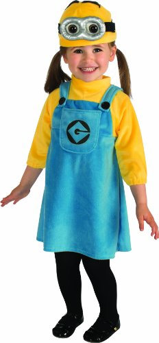 f15ec043ff468 Rubies Toddler Minion Despicable ME2 Costume da bambini
