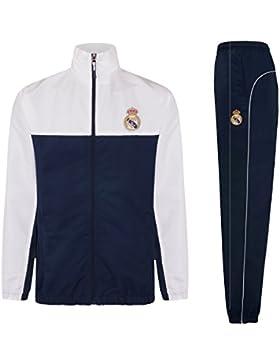 Real Madrid Chándal Oficial para Niño - Chaqueta y Pantalón Largo