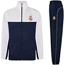 c29fc3b1980c9 Real Madrid - Chándal Oficial para niño - Chaqueta y pantalón Largo