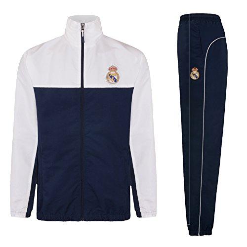 Real Madrid - Chándal Oficial Hombre - Chaqueta pantalón