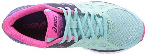 Asics Gel-Zaraca 3, Chaussures de trail femme Bleu (6535-Mint/Neon Pink/Dark Purple)