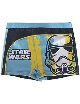 Bañador Boxer de baño Star Wars para niños color Azul