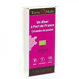 TERRA MADRE - Un dîner à Fort de France Colombo de Poulet - 8 g