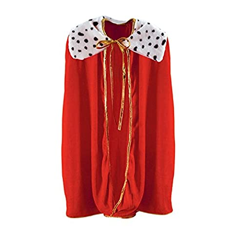 Costumes Enfant Renaissance Roi - Beistle 60254 Child King/Queen Robe,