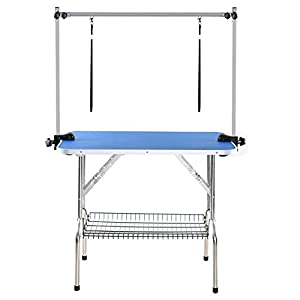 WarmieHomy-Dog-Grooming-Table-Adjustable-Folding-Pets-Grooming-Table-90-60-76cm