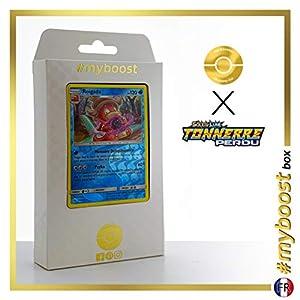 Roigada (Slowking) 55/214 Holo Reverse - #myboost X Soleil & Lune 8 Tonnerre Perdu - Box de 10 Cartas Pokémon Francés