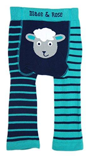 Leggings de oveja «Blade & Rose» Blue, Turquoise Talla:0-6 meses