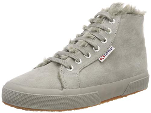Superga Damen 2795-SYNSHEARLINGW Hohe Sneaker, Grau (Full Grey 969), 39 EU