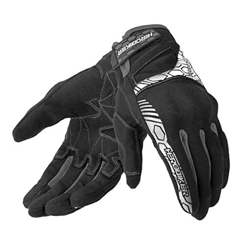 Guanti da moto Duro Knuckle Touch Screen Guanti da moto Motocross Mittens Waterproof Summer traspirante per uomo do