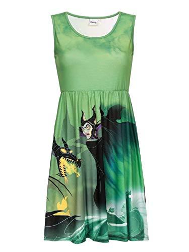 Dornröschen Villains - Malefiz Kleid multicolour M - Dornröschen Drache