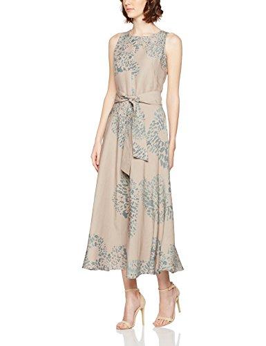 Oilily Damen A-Linie Kleid DEX SS17A6100, Maxi, Gr. 40, Mehrfarbig (Tye Dye Flower Brick 911B) (Tye Dye Kleid)