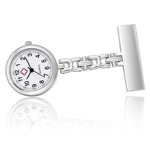 ESden Taschenuhr für Krankenschwestern, mit Gravur, personalisierbar