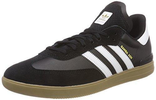 adidas Herren Samba ADV Fitnessschuhe, Schwarz (Negbás/Ftwbla/Gum4 000), 44 2/3 EU