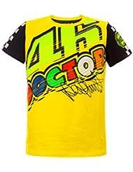 Valentino Rossi VR46 Moto GP Doctor Amarillo Niños Camiseta Oficial 2017