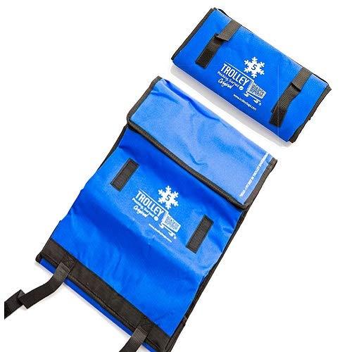 trolley bags Bolsas para colocar en el carro del supermercado, originales, llamativas, color azul