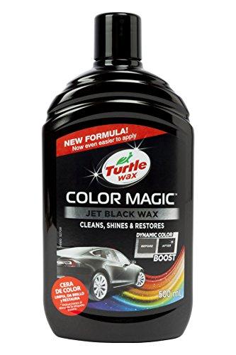 Turtle Wax 52708 Color Magic Autolackpolitur Stellt Farbe Und Glanz Wieder Her Schwarz 500ml