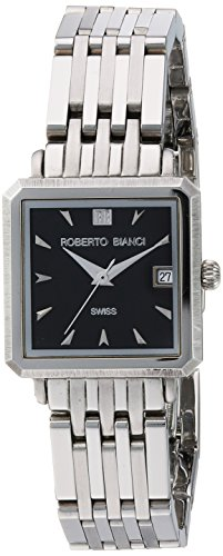ROBERTO BIANCI WATCHES Women's 'Modomora' Swiss Quartz Stainless Steel Casual Watch, Color:Silver-Toned (Model: RB18092)