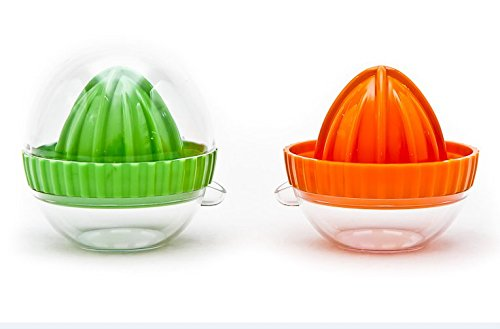 Colander Plastic Strainer with Twin Side Handles 24cm Diameter Four Feet Available in 4 Colours Red Blue Purple Green Green