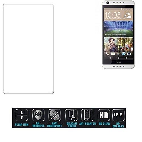 Foto K-S-Trade per HTC Desire 620G Dual SIM Pellicola Vetro Temperato Ultra-Clear Screen Protector Film Protettiva Resistente Format: 16:9, Non Copre Le Parti Laterali per HTC Desire 620G Dual SIM