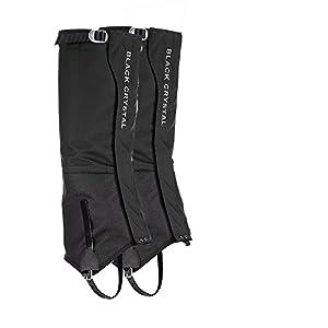 41az1MveudL. SS300  - Hiking Snow Ski Gaiters Waterproof Breathable Nylon Men's Black