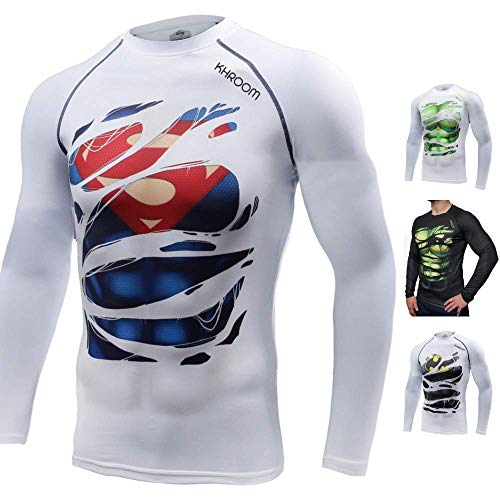 Lauf T Hemd Männer T-shirt Punisher Gym Sport Kurzarm Mma T Captain America Superman T-shirt Fitness Kompression Shirt Attraktive Designs; T-shirts