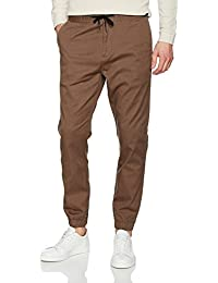 Nowadays Herren Hose Cropped Cuffed Pant